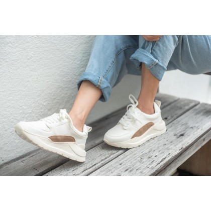 Color Patched Chunky Sneakers