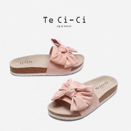 Pastel Bow Sandals